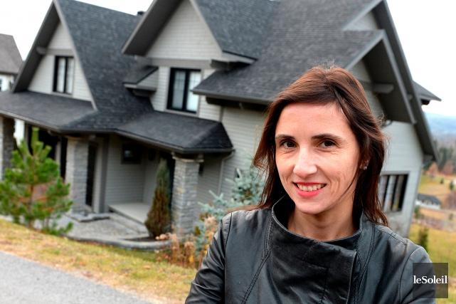 «Montrip, c'est le concept architectural», résume Marie-Catherine P.... (Le Soleil, Erick Labbé)