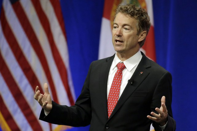 Rand Paul... (PHOTO AP)