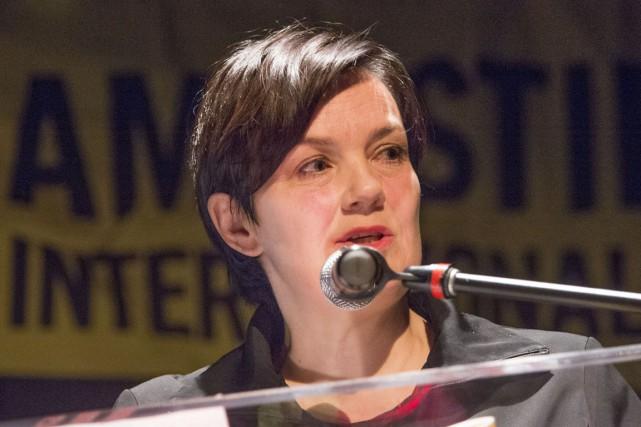 Béatrice Vaugrante est directrice générale d'Amnistie Canada francophone.... (Stéphane Lessard)