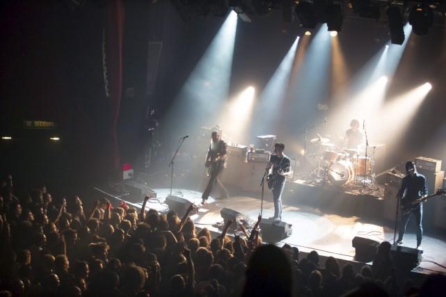 Les membres d'Eagles of Death Metal «se joindront... (AFP, Marion Ruszniewski)