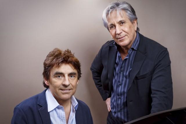 Claude Barzoti, ici accompagné de Claude Michel, reste... (Courtoisie)