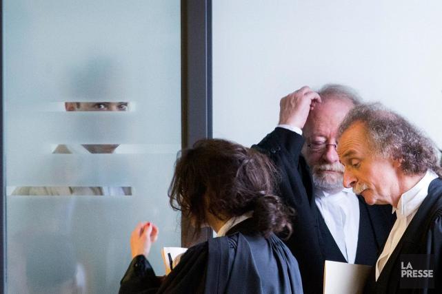 Devant la petite pièce où se trouve Guy... (Photo Ivanoh Demers, archives La Presse)