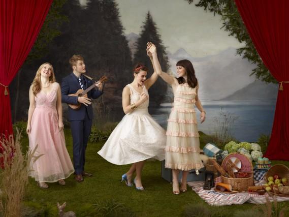 Les Von Trapp seront huit sur scène, jouant... (Fournie par The Windish Agency)