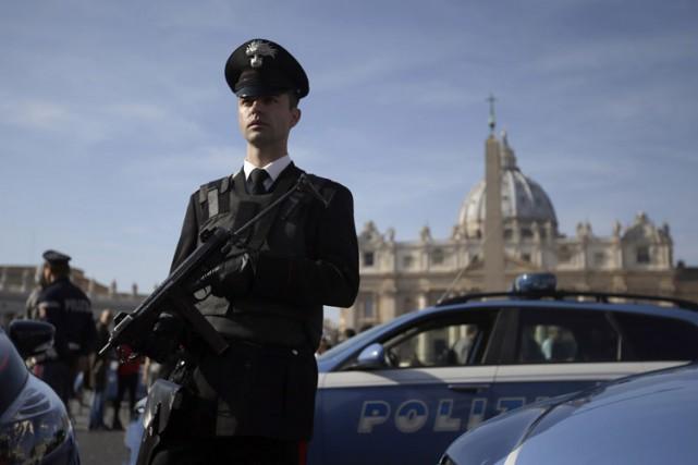 L'Italie a renforcé ses mesures de sécurité après... (PHOTO AP)