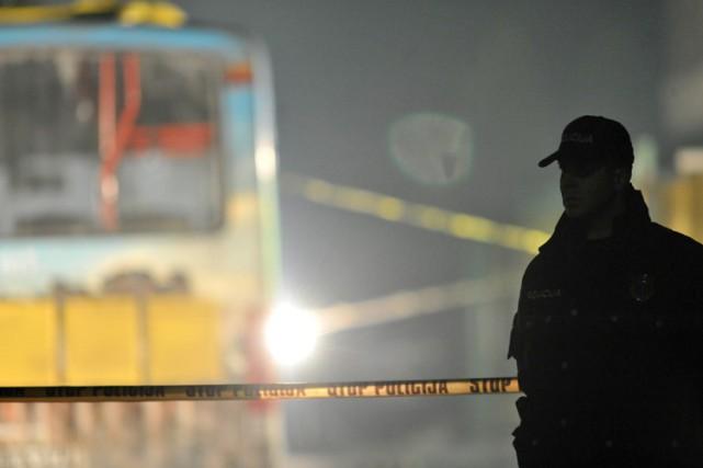 Deux militaires bosniens ont été tués à l'arme automatique mercredi soir près... (PHOTO AFP)