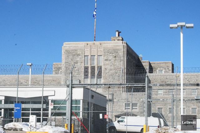 La prison de Gatineau... (Étienne Ranger, Archives LeDroit)