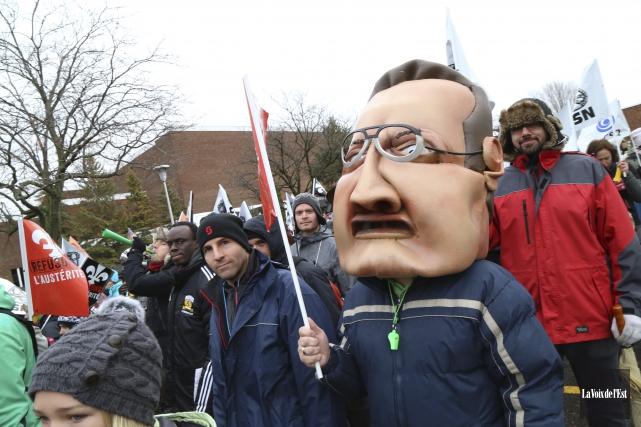 «On ne peut pas reprocher aux dirigeants syndicaux... (Janick Marois, archives La Voix de l'Est)