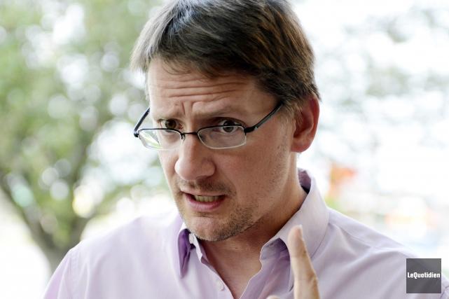 Sylvain Gaudreault a été nommé responsable de la... (Archives Le Quotidien)