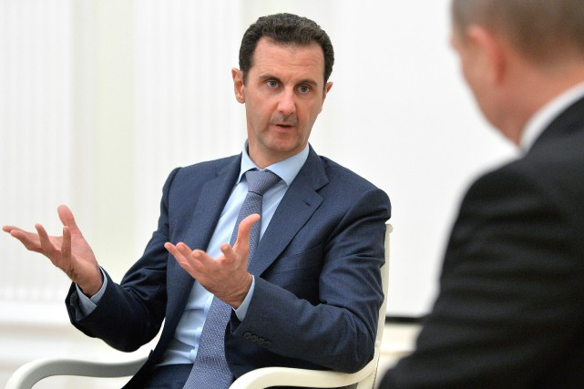 Le président syrien Bachar al-Assad... (PHOTO ARCHIVES AFP/RIA NOVOSTI)