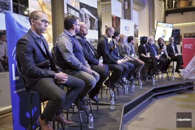 Le 10e Rendez-vous régional de l'entrepreneuriat avait lieu... (Photo Le Quotidien, Rocket Lavoie)
