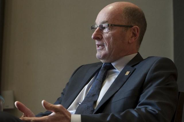Le maire de Trois-Rivières, Yves Lévesque, n'a pas... (Stéphane Lessard)