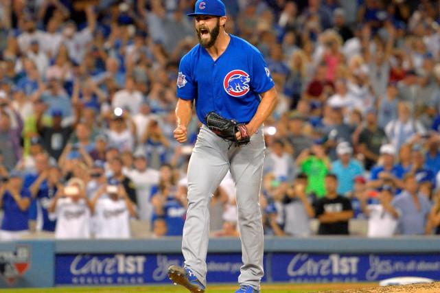 Le lanceur étoile des Cubs de Chicago Jake... (AP, Mark J. Terrill)