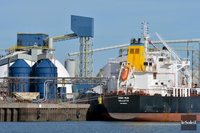 L'Administration portuaire de Québec (APQ) a présenté mardi... (Photothèque Le Soleil, Jean-Marie Villeneuve)
