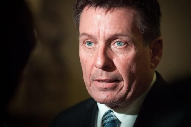 Le ministre Pierre Moreau... (Archives Presse Canadienne)