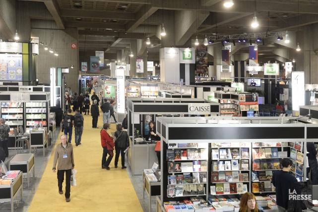 La 38e édition du Salon du livre de... (Bernard Brault, La Presse)