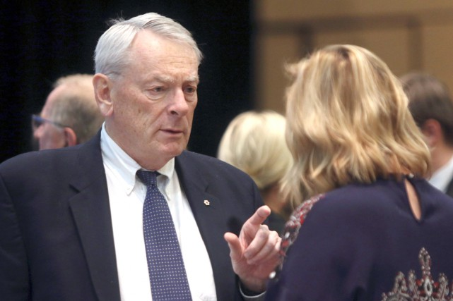 Le Canadien Richard Pound, membre du CIO et... (AFP, Tom Kimmell)