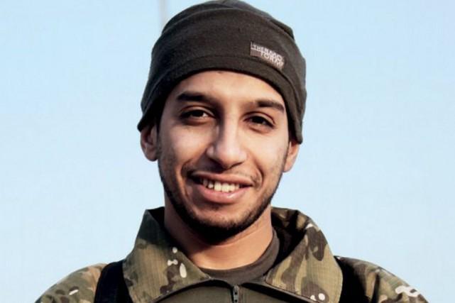 Le corps du djihadiste belge Abdelhamid Abaaoud, «criblé... (Archives AFP)