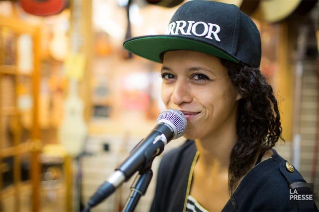 Après le succès viral de sa reprise de la chanson Formidable en arabe,... (PHOTO OLIVIER PONTBRIAND, ARCHIVES LA PRESSE)