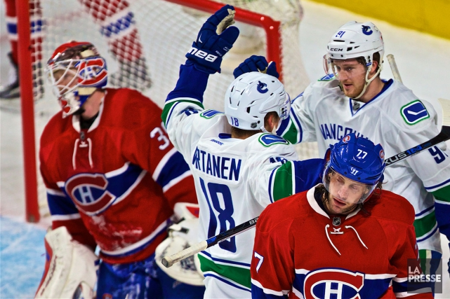 Le Canadien a accordé huit buts en première... (Photo André Pichette, La Presse)