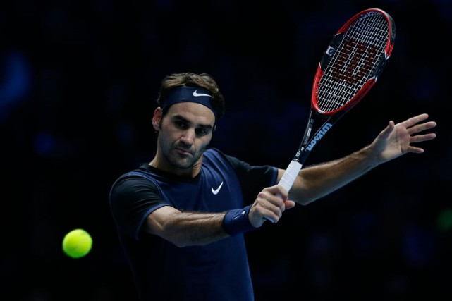 Roger Federer... (Photo Tim Ireland, AP)