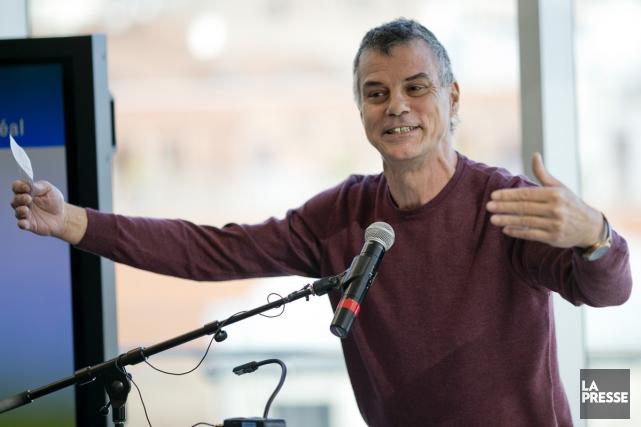 L'auteur et historien Gilles Laporte, qui a lancé récemment Brève histoire... (PHOTO DAVID BOILY, ARCHIVES LA PRESSE)