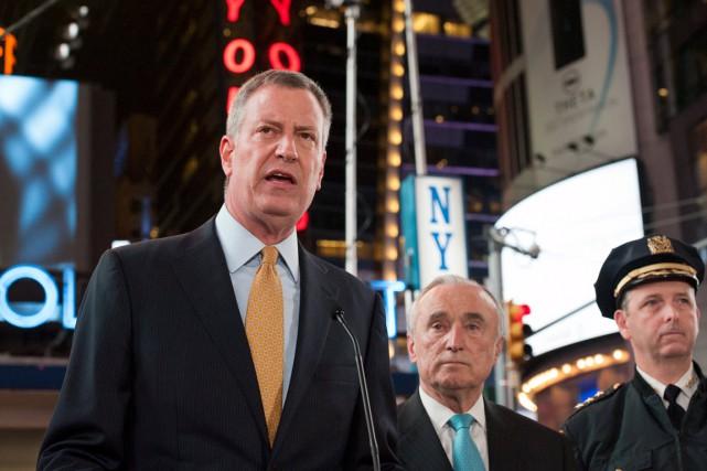 «Que ce soit très clair, les New-Yorkais ne... (PHOTO STEPHANIE KEITH, REUTERS)