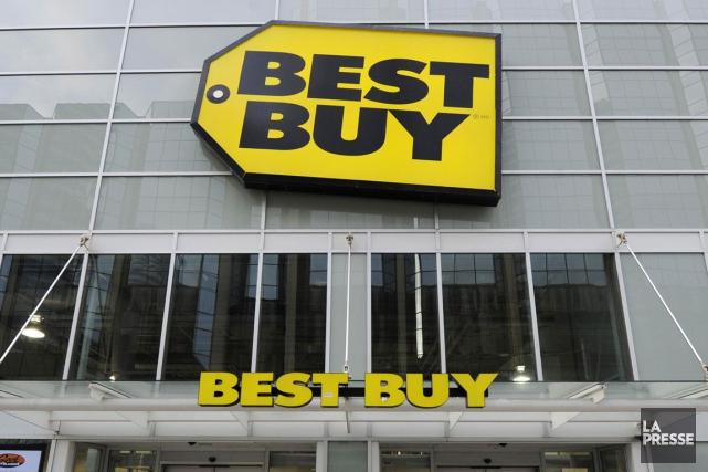 Best Buy a dévoilé jeudi des résultats trimestriels jugés décevants, en plus de... (Photo Archives Reuters)