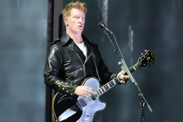 Joshua Homme, de Queens of the Stone Age,... (PHOTO ARCHIVES AP)
