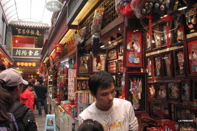 Dans un marché à Pékin, en Chine, j'ai... (La Tribune, Jonathan Custeau)
