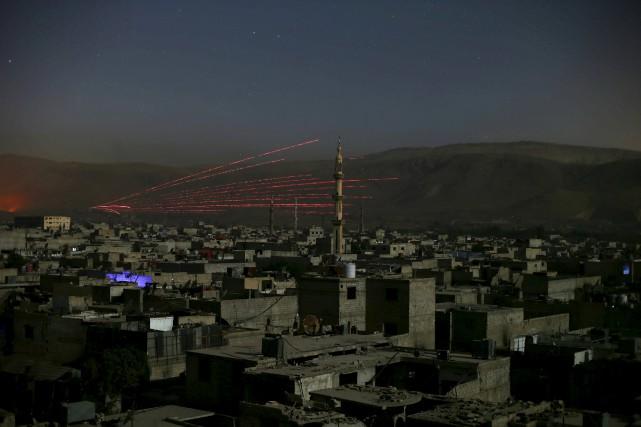 Après avoir avivé les tensions communautaires en 2011,... (PHOTO BASSAM KHABIEH, ARCHIVES REUTERS)