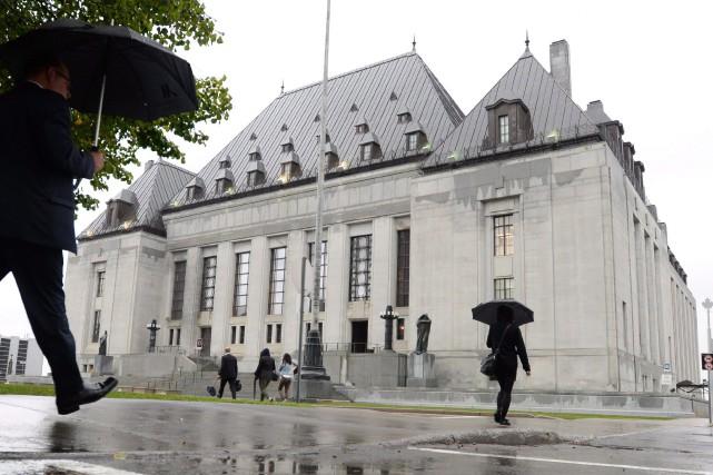L'édifice de la Cour suprême du Canada, à... (PHOTO ARCHIVES LA PRESSE CANADIENNE)