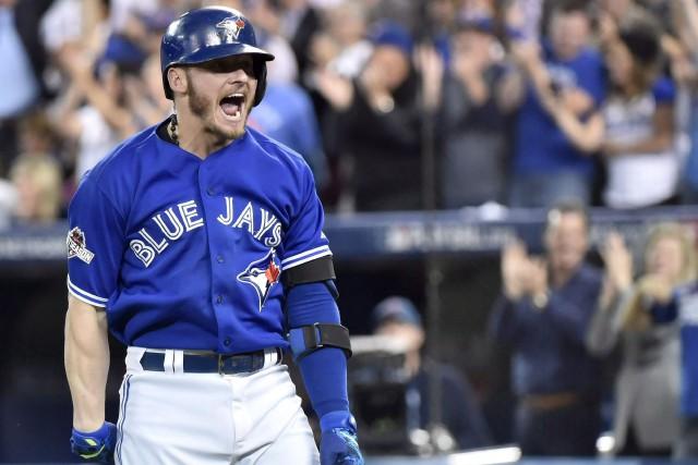 Josh Donaldson a été élu le joueur le... (PHOTO ARCHIVES LA PRESSE CANADIENNE)