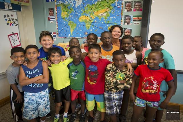 La CSRS compte plusieurs classes d'accueil, dont à... (Imacom, Jessica Garneau)