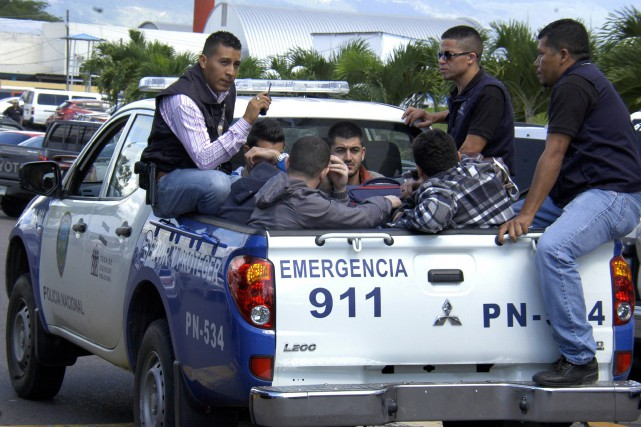 Les autorités du Honduras avaient annoncé mercredi l'arrestation... (PHOTO AFP)