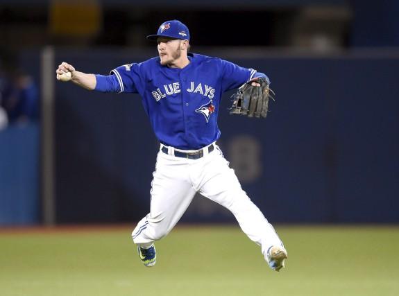 Josh Donaldson (Blue Jays)a été nommé joueur par... (Archives La Presse Canadienne)