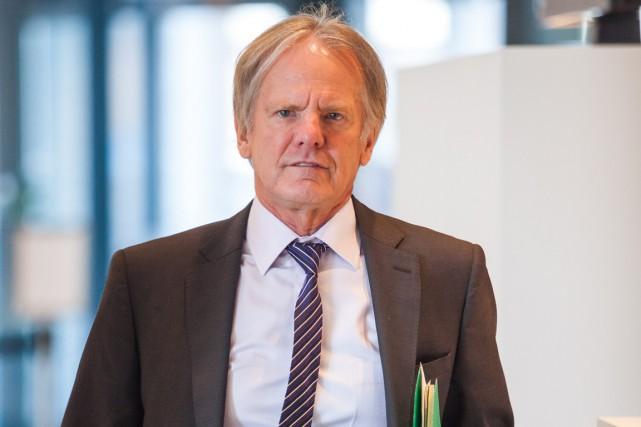 L'ancien vice-recteur intérimaire de l'UQTR, Gilles Charland.... (Olivier Croteau)