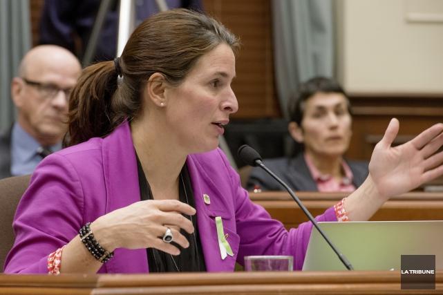 La conseillère Annie Godbout assure que le comité... (Archives, La Tribune)