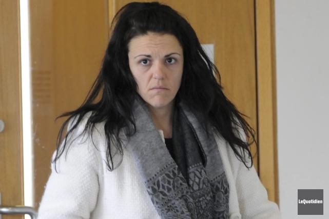 Anne Vaillancourt a plaidé coupable et évité ainsi... (Archives Le Quotidien)