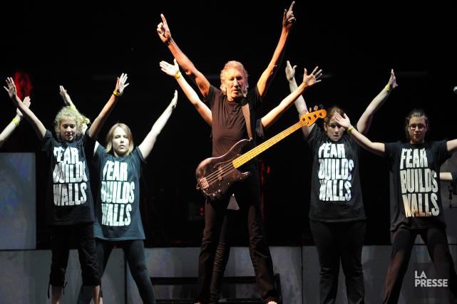 L'ex-Pink Floyd les invite à revivre cette imposante... (Archives La Presse)