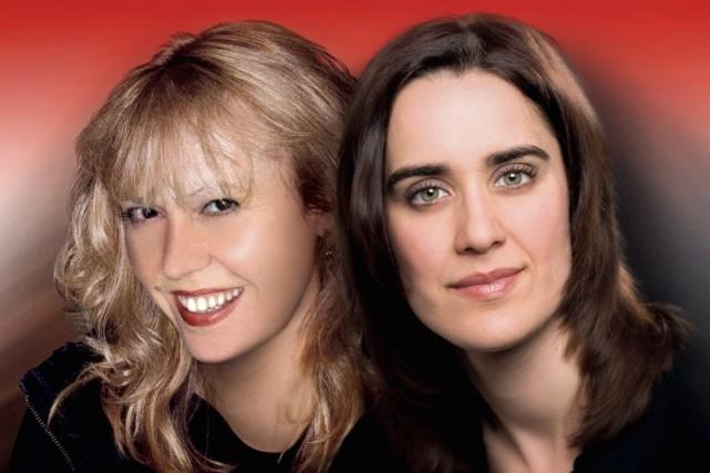 Mélanie Barney et Carole Menegnel donneront un concert... (Photo Courtoisie)