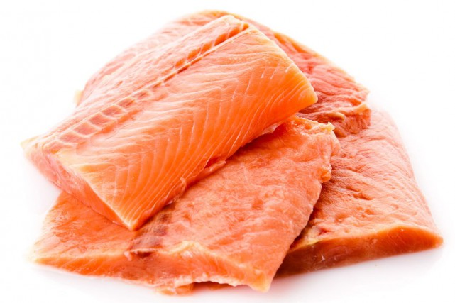 AquAdvantage est, essentiellement, un saumon de l'Atlantique dans... (123RF/ewastudio)