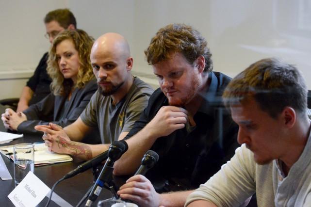 Les quatre signataires de la lettre envoyée au... (Photo Stephanie Keith, Reuters)