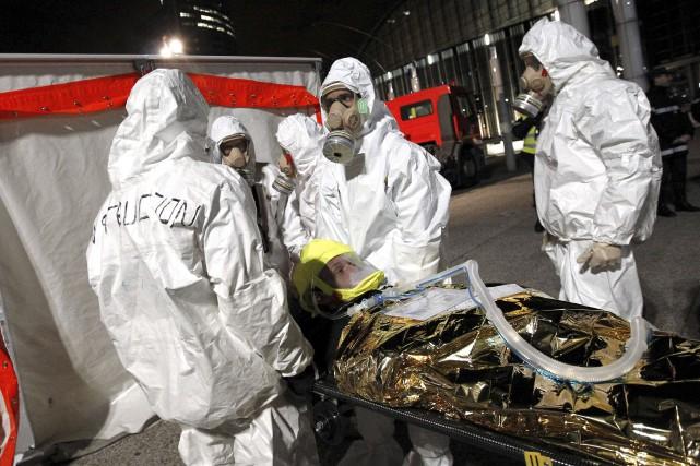 Sur cette photo prise en novembre 2011, des... (AFP, Alexander Klein)