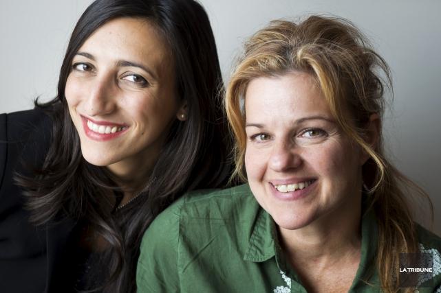 Florence K et Sylvie Moreau font partie du... (Imacom, Jessica Garneau)