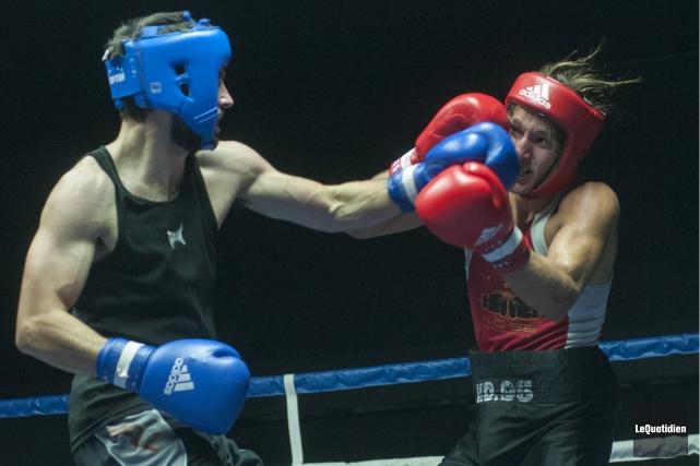 Sept boxeurs de la région, soit quatre du Club de boxe de Chicoutimi et trois... (Archives Le Quotidien)