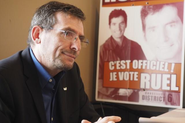 Serges Ruel a annoncé hier qu'il quitte la... (photo Alain Dion)