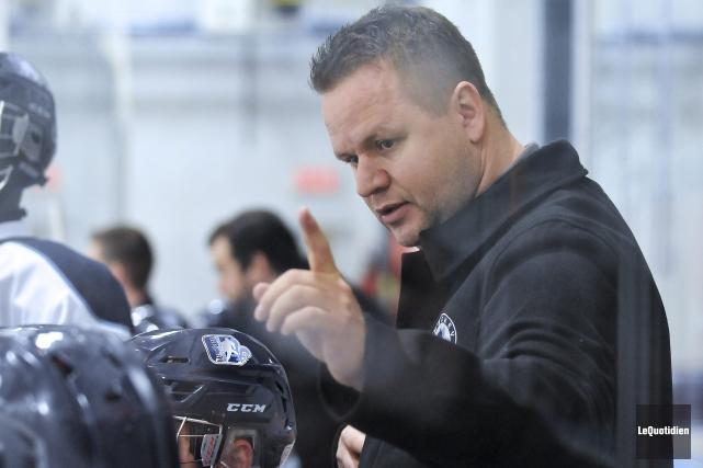 L'ancien entraîneur-chef des Saguenéens, Patrice Bosch, est le... (Photo Le Quotidien, Rocket Lavoie)