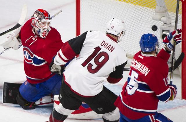 Dans leurs meilleurs moments de la jeune saison, le Canadien marquait en... (La Presse Canadienne)