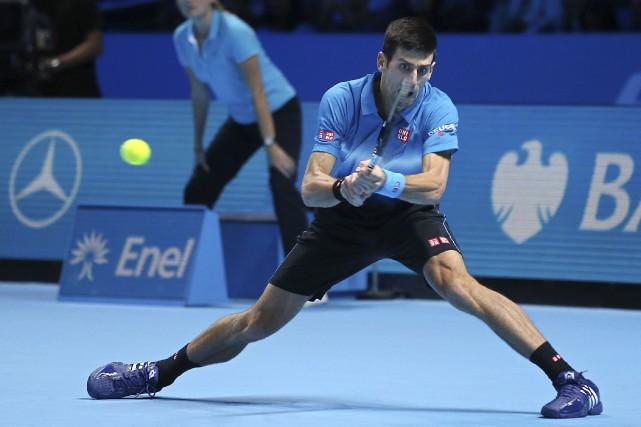 Le Serbe Novak Djokovic a fait un pas... (AFP, Justin Tallis)