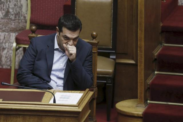 Pour le premier ministre, la Grèce «arrive à... (PHOTO ALKIS KONSTANTINIDIS, REUTERS)